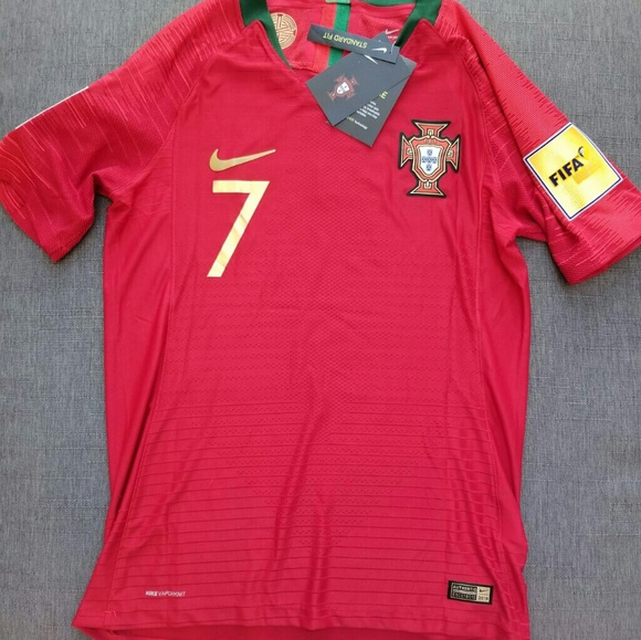 official photos a05c6 d34fa Cristiano Ronaldo Portugal Jersey